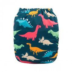 """Alva Pocket  """"Dinosaurs on Navy"""""""