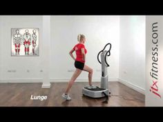 Vibration plate exercises and workout