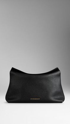 Small Grainy leather clutch - Burberry - £495