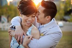#EngagementPhotography  Downtown Calgary engagement shoot with Belinda and Andrew  see more > http://www.cassiescamera.com/2015/05/04/calgary-wedding-photographer-belinda-andrew-engagement-sneak-peek/