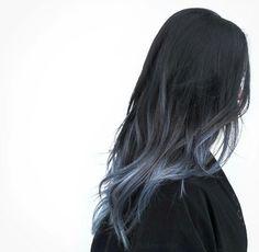 Get hair dyed Hair Color Streaks, Hair Color Purple, Hair Dye Colors, Hair Color For Black Hair, Blue Hair, Korean Hair Color, Dye My Hair, Aesthetic Hair, Hair Looks