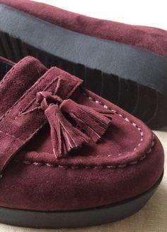 Kaufe meinen Artikel bei #Kleiderkreisel http://www.kleiderkreisel.de/damenschuhe/halbschuhe/136134331-vagabond-edie-flache-slipper-loafer-bordeaux
