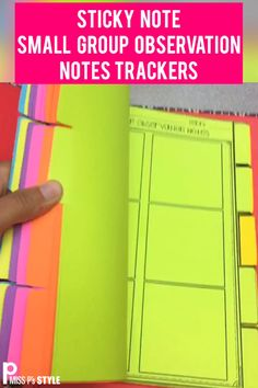 These sheets are perfect for quick, small group anecdotal notes. There are different formats to use with and without sticky notes. Elementary students can also use these pages to keep their student sticky notes and feedback. Teaching Strategies, Teaching Tools, Teacher Resources, Comprehension Strategies, Reading Comprehension, Teacher Organization, Teacher Hacks, Small Group Organization, Anecdotal Notes