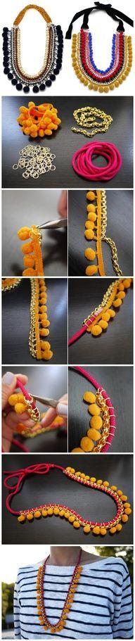 #collar #colorido #original #fácilysencillo #lovely