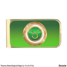 Taurus Astrological Sign Gold Finish Money Clip | 15% OFF anything | Enter coupon code ALLOVERSTYLE during checkout |. Good through April 6, 2016 11:59PM PT