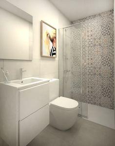 Busca imágenes de Baños de estilo moderno en blanco: Cuarto de baño suite. Encuentra las mejores fotos para inspirarte y crea tu hogar perfecto.