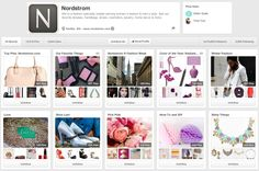 An excellent case study: Nordstrom - Integrating Pinterest & the In Store Experience. Great tips!