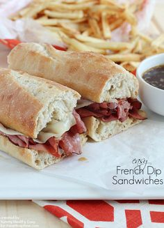Easy French Dip Sandwiches I Heart Nap Time | I Heart Nap Time - Easy recipes, DIY crafts, Homemaking