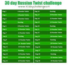 russian twist how much a day - Google zoeken