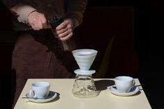 In unserem Lokal #Pergola gleich beim #Hauptbahnhof #Vienna gibt es ganz speziellen #Filterkaffee der #Kaffeefabrik. 1/3