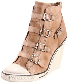 Ash Women's Thelma Fashion Sneaker Santa needs to bring me these! Sneakers Mode, Wedge Sneakers, Wedge Heels, Sneakers Fashion, Fashion Shoes, Converse Wedge, Sneaker Wedges, Women's Fashion, Cute Wedges