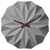 Ceramic Origami Wall Clock