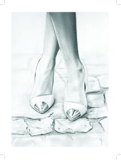Hey, I found this really awesome Etsy listing at https://www.etsy.com/listing/126184267/fashion-illustration-print-12x16-follow Fashion shoes are always the best thing for a lady.