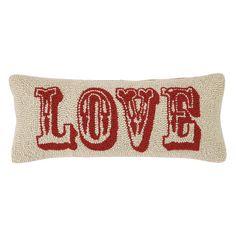 Found it at Wayfair - Love Hook Wool Lumbar Pillow