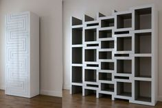 rek-bookcase collapses or grows with your book collection.