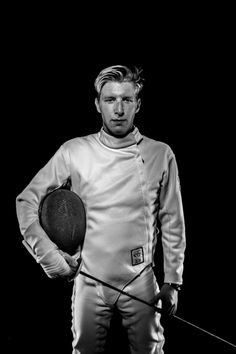 Portrait of a Fencer