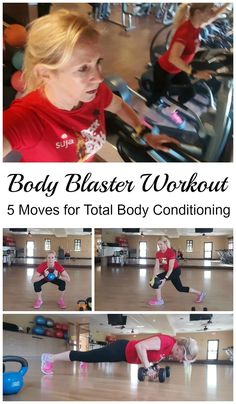 You'll love this body blaster workout! Just 5 exercises to strengthen your entire body, with an emphasis on glutes and core..