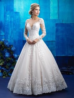 Allure Bridals Dress - Popular On Pinterest: Wedding Dresses That Have Been Pinned Over 10,000 Times - Photos