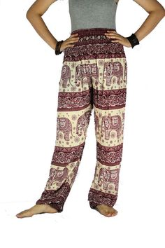 Hippie pants Elephant pants Harem pants Bangkok Pants Fits for 0-14 US Size