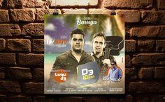 Job: Flyer | Cliente: Sinho Barriga | Software: Photoshop CS6.