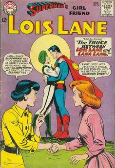 Superman's Girlfriend, Lois Lane n°52, October 1964, cover by Kurt Schaffenberger.