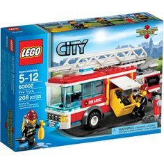 Compare prices on LEGO City Set Fire Truck from top online retailers. Save money on your favorite LEGO figures, accessories, and sets. Lego City Fire Truck, Fire Trucks, Shop Lego, Buy Lego, Lego City Sets, Lego Sets, Retractable Hose, Firefighter Gear, Lego Fire