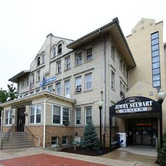 Jimmy Stewart Museum, Indiana, PA Proud to be located on the same street as the Jimmy Stuart Museum!  #gattipharmacy #IUP