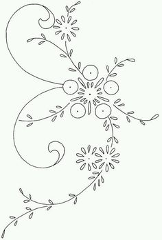 Flowers drawing vintage embroidery patterns 35 Ideas for 2019 Silk Ribbon Embroidery, Hand Embroidery Patterns, Vintage Embroidery, Embroidery Applique, Cross Stitch Embroidery, Machine Embroidery, Embroidery Designs, Flower Embroidery, Quilled Creations