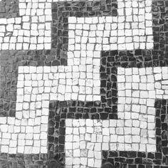 Calçada portuguesa - ziguezague