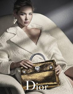 7193fffedc53b Jennifer Lawrence photographed by Patrick Demarchelier for Dior s  fall-winter 2016 handbag campaign Patrick Demarchelier