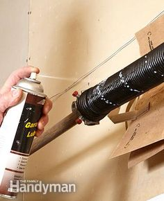 Advanced Garage Overhead Door Repairs: Advanced Garage Overhead Door Repairs Read more: http://www.familyhandyman.com/doors/garage-door-repair/advanced-garage-overhead-door-repairs/view-all