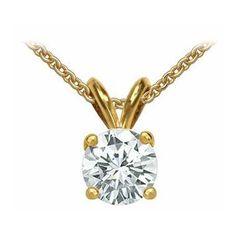 Diamant Anhänger Solitär 0.25 Karat aus 585er Gelbgold F/VS2. Diesen Diamantanhänger bei www.juwelierhausabt.de inklusive Zertifikat und Schmucketui versandkostenfrei für nur 999.00 Euro bestellen.