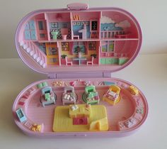 Vintage Polly Pocket Stampin' School Playset Bluebird 1992 | eBay