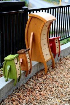 unique furniture Straight Line Designs - furniture Funky Furniture, Unique Furniture, Painted Furniture, Furniture Design, Office Furniture, Dream Furniture, Plywood Furniture, Garage Furniture, Painted Dressers