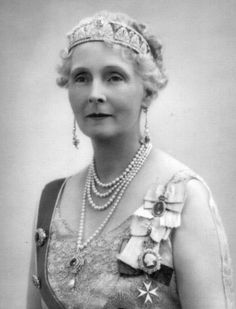 Princess Alice of Albany, Countess of Athlone (1883-1981). Granddaughter of Queen Victoria.