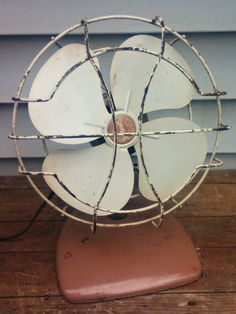 SuperLectric Metal Fan, 1960s, Working Fan, Manufactured by the Superior Electric Products Company in Missouri, Vintage Metal Rotary Fan by VintageRelics802 on Etsy