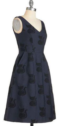 Orla Kiely Cute as a Kitten Dress