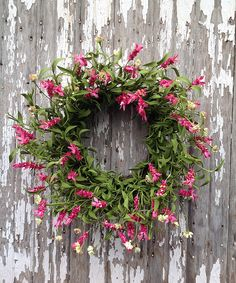 Desert Rose Wreath ==