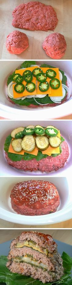Cheeseburger Slow Cooker Meatloaf