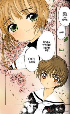 anime     cardcaptor     couple     love     magic     manga     sakura   x  shaoran     shoujo