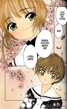 anime     cardcaptor     couple     love     magic     manga     sakura   x  shaoran     shoujo