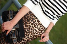 Fashion Painted Dreams: Leopard and stripes
