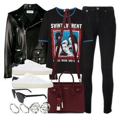 """""""#13820"""" by vany-alvarado ❤ liked on Polyvore featuring Yves Saint Laurent and ASOS"""