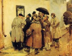 News from the Front - Viktor Vasnetsov