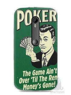 Capa Moto G3 Poker #2 - SmartCases - Acessórios para celulares e tablets :)