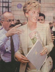 1994 Sept 27th visiting Royal College of Nursing, London