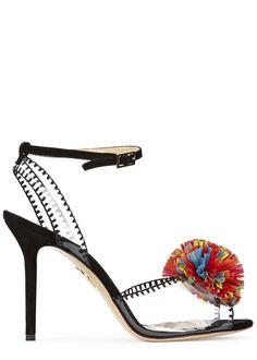 Charlotte Olympia pom pom heels