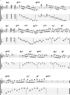 Misty arpeggio study page 2