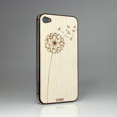 Toast - Dandelion White Ash  Wooden iPhone case