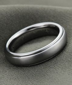 #tungstenrepublic.com     #ring                     #Brushed #Tungsten #Carbide #Wedding #Ring #Women   Brushed Tungsten Carbide Wedding Ring for Men and Women - 5MM                                           http://www.seapai.com/product.aspx?PID=1093113